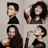 Les Brünettes: Lisa Herbolzheimer, Juliette Brousset, Stephanie Neigel, Julia Pellegrini